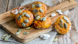 Pumpkin spice pogácsák ma az őszi hangulatfokozók