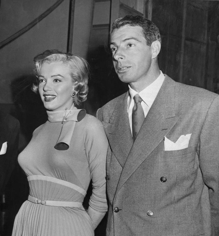 Marilyn Monroe és Joe DiMaggio