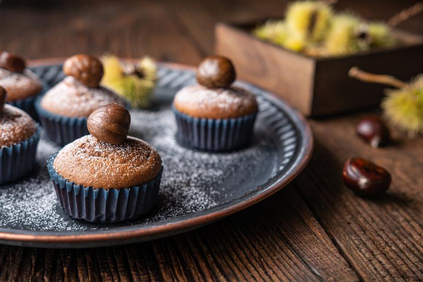 Mennyei gesztenyés muffin villámgyorsan: csak keverd össze a hozzávalókat