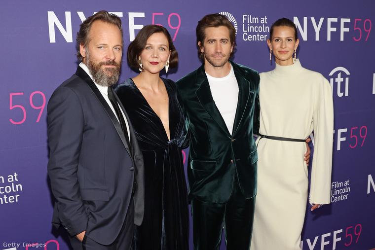 Peter Sarsgaard, Maggie Gyllenhaal, Jake Gyllenhaal és Jeanne Cadieu