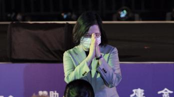 Katasztrofális következményekre figyelmezteti a világot a tajvani elnök