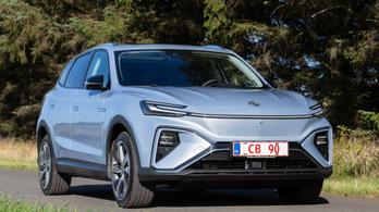 Itt a németverő kínai autó