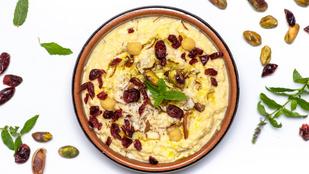 Sült paprikás-diós hummusz a hirtelen jött vendégségekhez