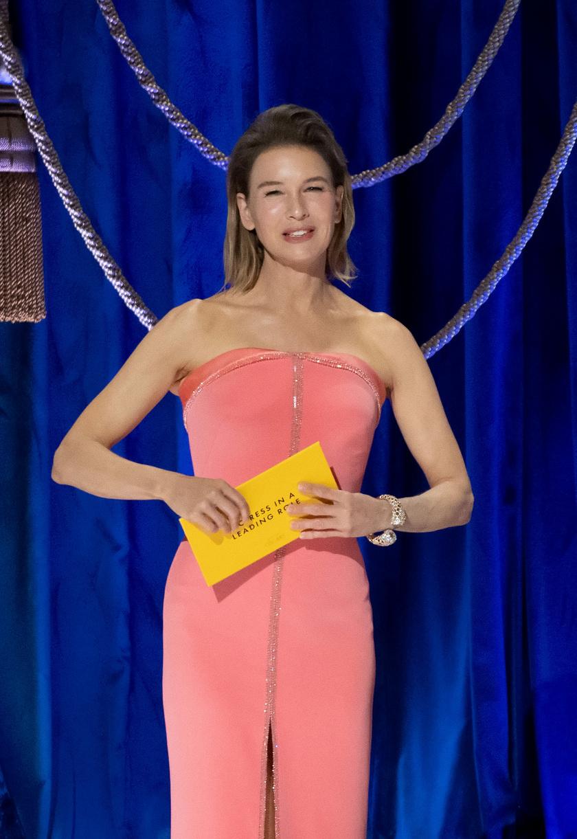 A színésznő 2021 áprilisában.