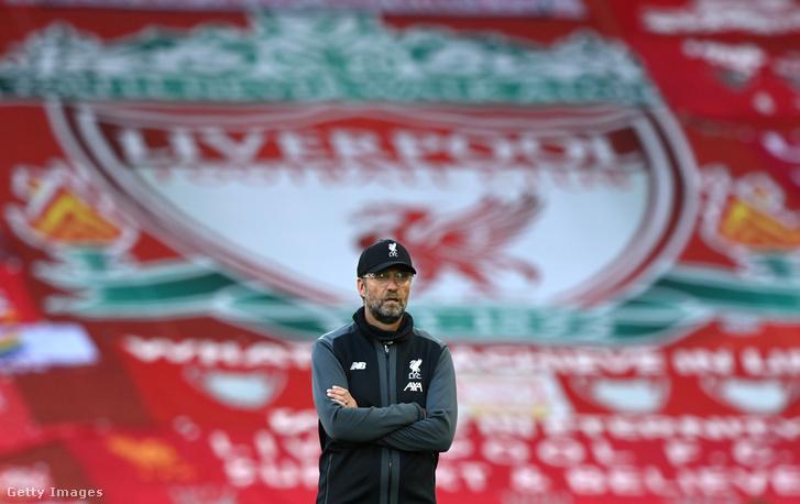 Jürgen Klopp, a Liverpool vezetőedzője