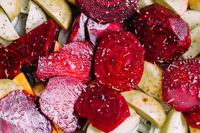Krémesre sült, színes zöldségek: tökéletes köret, de magában is finom