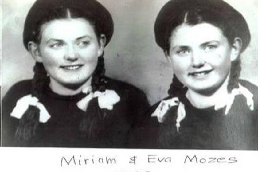 Mózes Mirjam és Mózes Éva.