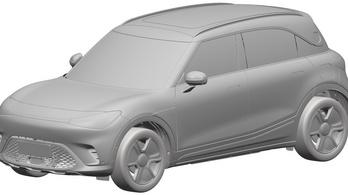 Ilyen lesz a végleges Smart SUV