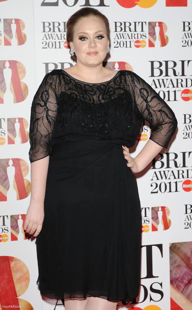 Adele bámulatos átalakuláson esett át az elmúlt néhány évben, de 2011-ben még így nézett ki