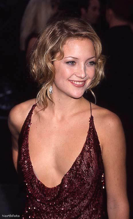 Ő itt Kate Hudson, 2000 szeptemberében lőtték róla ezt a felvételt