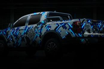 Egy pillanatra megvillantották az új Ford Rangert