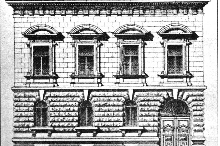 A Kincsem-palota rajza.