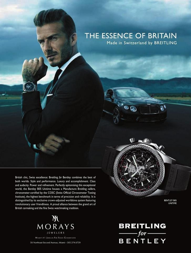 Ezen Beckham sem segít, napjainkban a Tudor arcaként autentikusabb