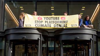 Megvonja a klímaváltozást tagadók pénzét a YouTube