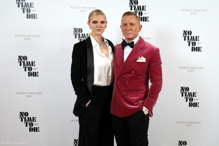 Ella Loudon és apja, Daniel Craig