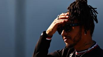 Rajtbüntetést kapott Lewis Hamilton a Török Nagydíjra