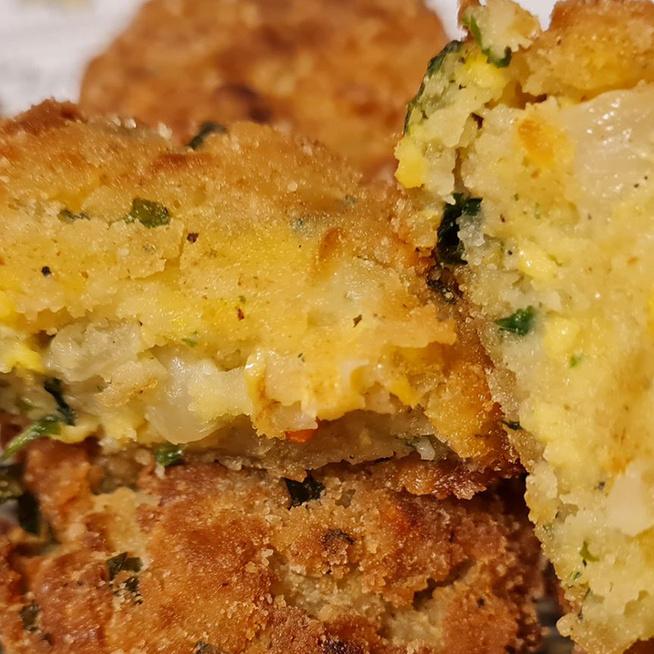 Isteni, petrezselymes tojásfasírt: főzelék mellé, de szendvicsbe is kerülhet