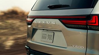 Itt a legnagyobb Lexus előzetese