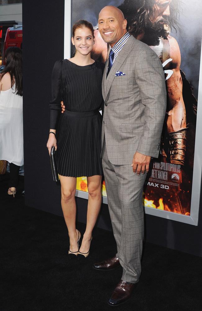2014-ben a filmvásznon is feltűnt, ugyanis szerepet kapott a Herkules című szuperprodukcióban, melyben Dwayne Johnsonnal és Irina Shaykkel forgathatott