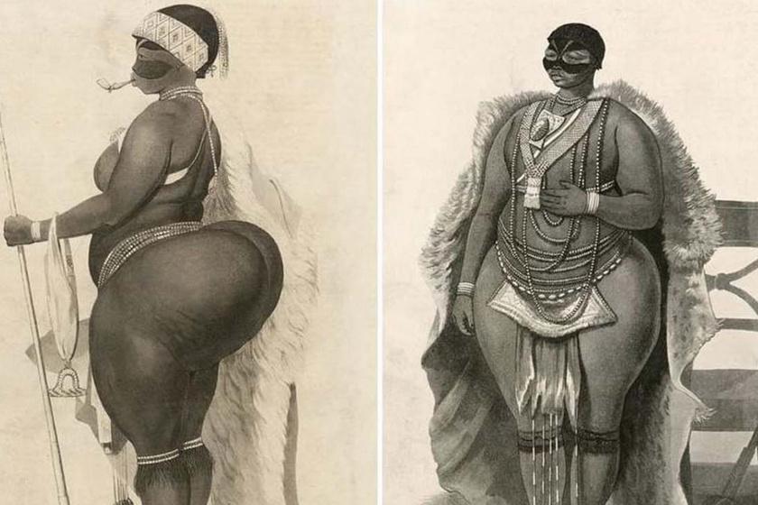 Nagy feneke miatt lett látványosság Európában Sarah Baartman rabszolganő - A női test kizsákmányolása 200 éve
