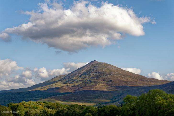 A Schiehallion hegy Skóciában