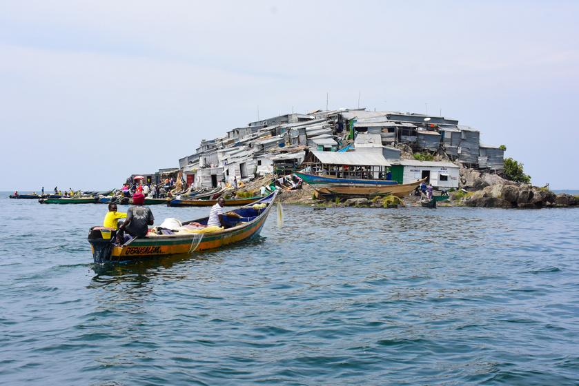 A lehetetlenül kicsi szigetet 131-en lakják, van bordélyháza és kocsmája is: még egyik országhoz sem tartozik Migingo
