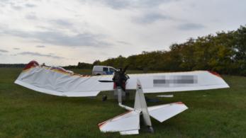 Rosszul végződött a landolás Békéscsabán, összetört a repülő