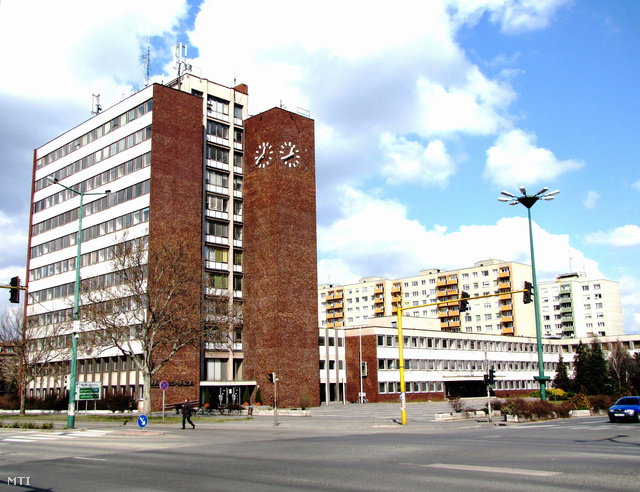 A dunaújvárosi városháza