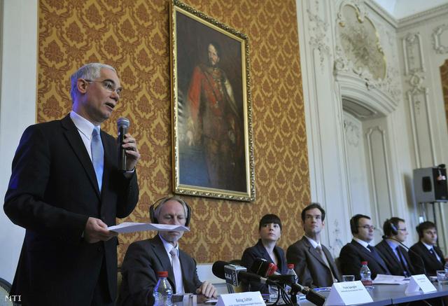 Balogh Zoltán a Jó kormányzás index című konferencián
