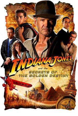 Kamuplakát az Indiana Jones 5-höz