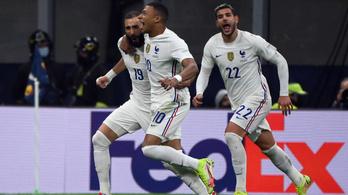 Minimum lesgyanús góllal nyerték a Nemzetek Ligáját a franciák