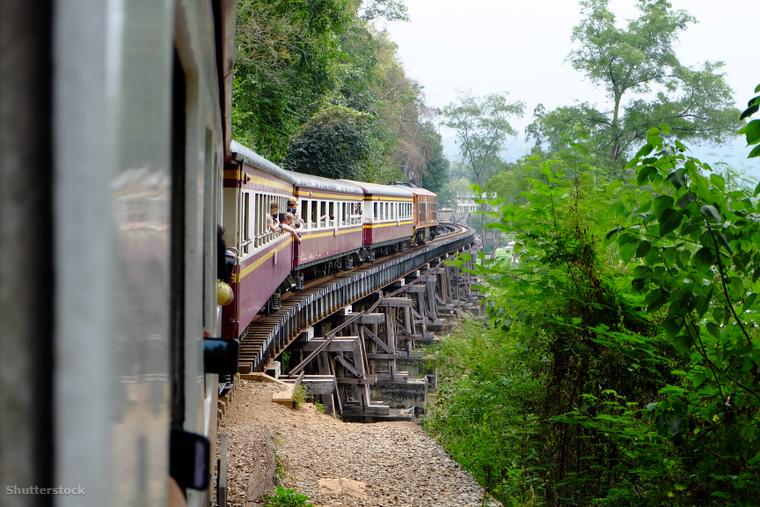 A Thaiföldi vasútvonalat Halálvasútnak is nevezik.
