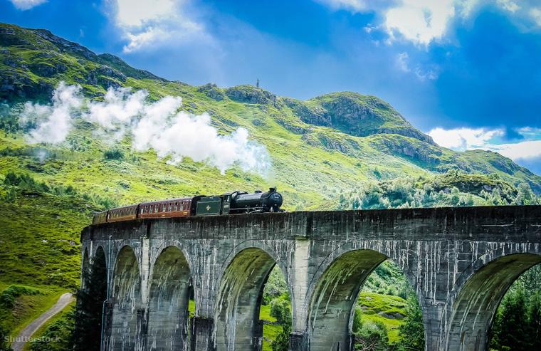 A Jacobite nevű gőzös útvonala a világon széles körben a Harry Potter-filmekből vált ismertté.