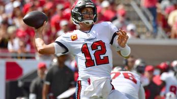 Tom Brady újabb hihetetlen mérföldkőhöz érkezhet
