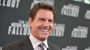 Tom Cruise és adoptált fia együtt mutatkoztak