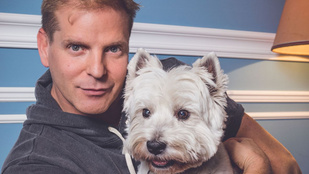 Kajdi Csaba kutyusának, Sanyikának 56 ezer rajongója van az Instagramon