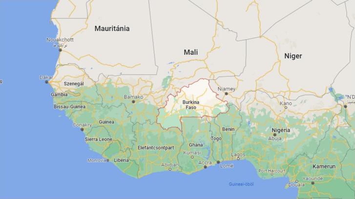 Burkina Faso területe