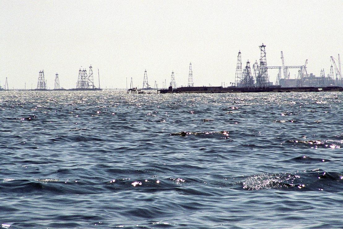 Oil Rocks near Baku