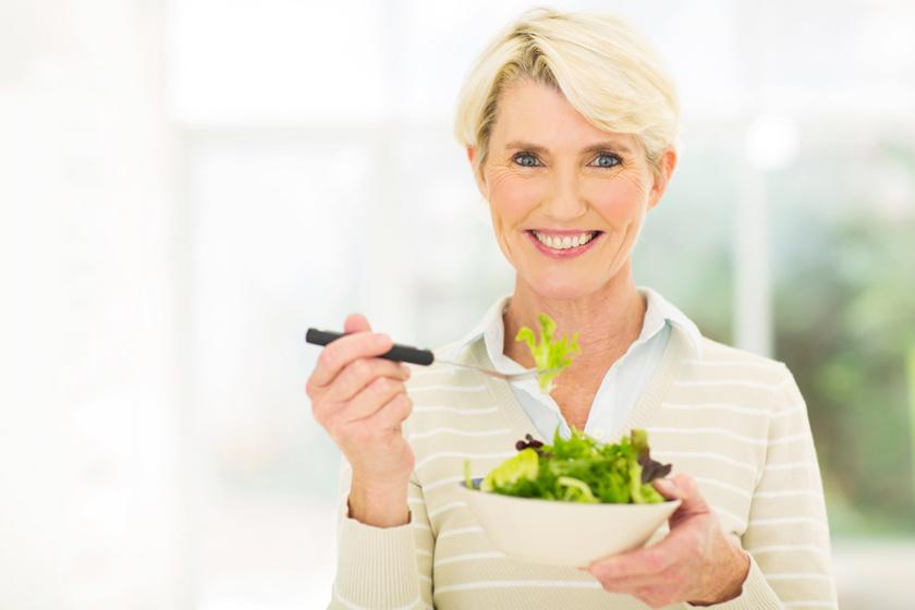 Hány kalóriára van szüksége egy 50 feletti nőnek? Az anyagcsere lassulása miatt nem ehetsz annyit, mint 20 éve