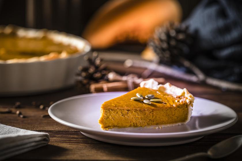 Az igazi amerikai sütőtökös pite: omlós a tészta, selymes a töltelék