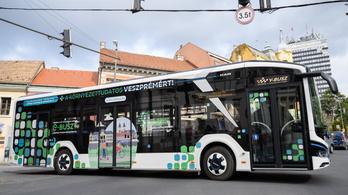Kilométerenként 60 forint spórolható az elektromos buszokkal