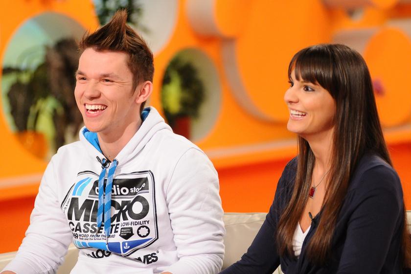 Skrapits Erik és Kisó az RTL Klub Reggeli egyik 2011-es adásában.
