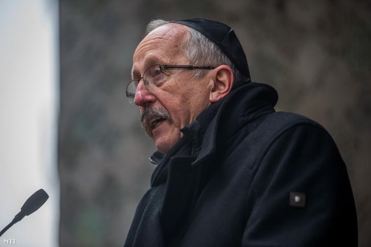 Niedermüller Péter 2020. január 17-én