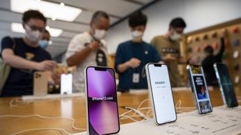 Baj van, tízmillióval kevesebb iPhone 13-at fognak gyártani
