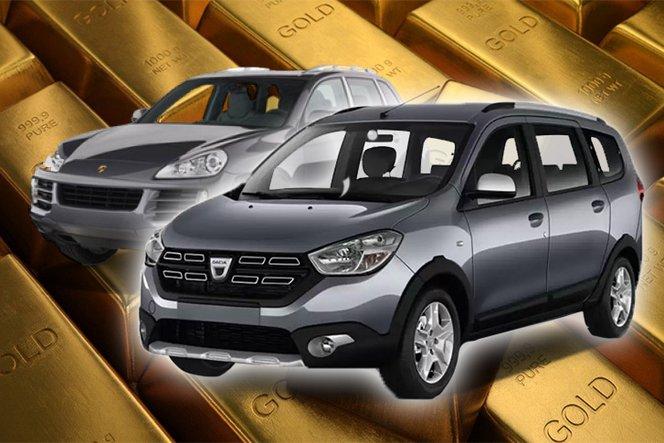 Fiatal Dacia eladó, Porschét beszámítok