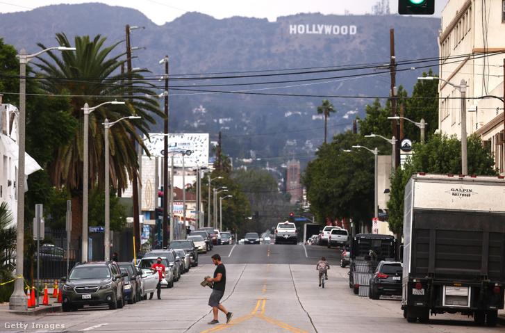 Los Angeles 2021. október 7-én.