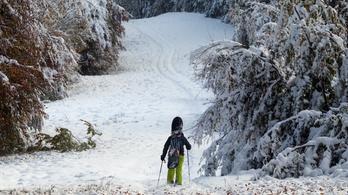 Hiába vonzó a hó a Bükkben, jobb távol maradni tőle