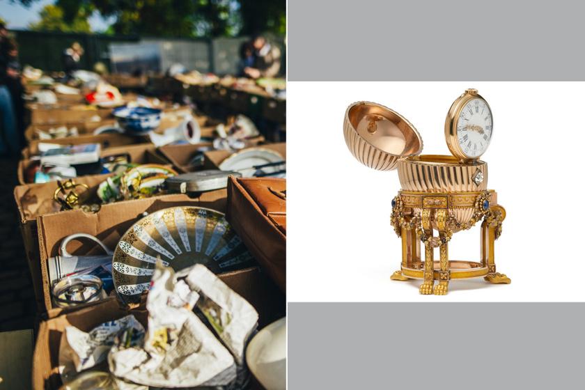 A bolhapiacon vette a tojást, kiderült, hogy Fabergé: 8 ritka kincs, ami gazdaggá tette gyanútlan vásárlóját