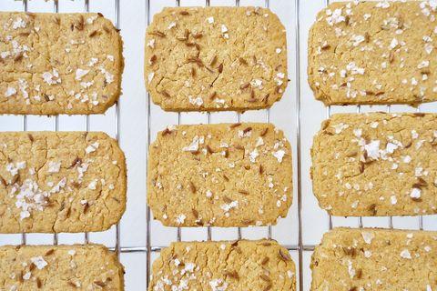 Hummusz keksz - Hihetetlenül egyszerű házi keksz, két hozzávalóból