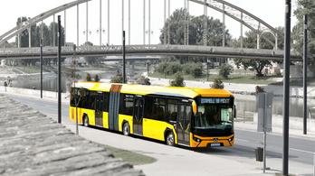 Újra van magyar csuklós autóbusz